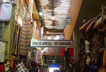 This is Africa, We Bargain - © Delphine Ménard, cc-by-sa