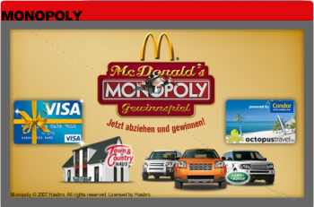 Monopoly by Mc Donalds